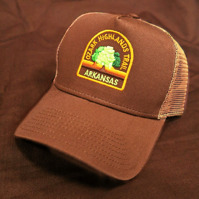 OHT Brown-Tan Mesh Cap